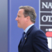 British Prime Minister David Cameron arrives for sessions of the second day of the NATO Summit, in Warsaw, Poland, Saturday, July 9, 2016. US President Barack Obama and leaders of the 27 other NATO countries are taking decisions in Warsaw on how to deal with a resurgent Russia, violent extremist organizations like the Islamic State, attacks in cyberspace and other menaces to allies' security. (AP Photo/Alik Keplicz)