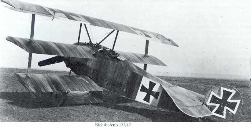 Fokker Dr.I 127/17 at Jasta 11
