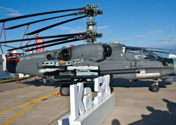 Ka-52K © Sputnik/ Ilya Bogachev