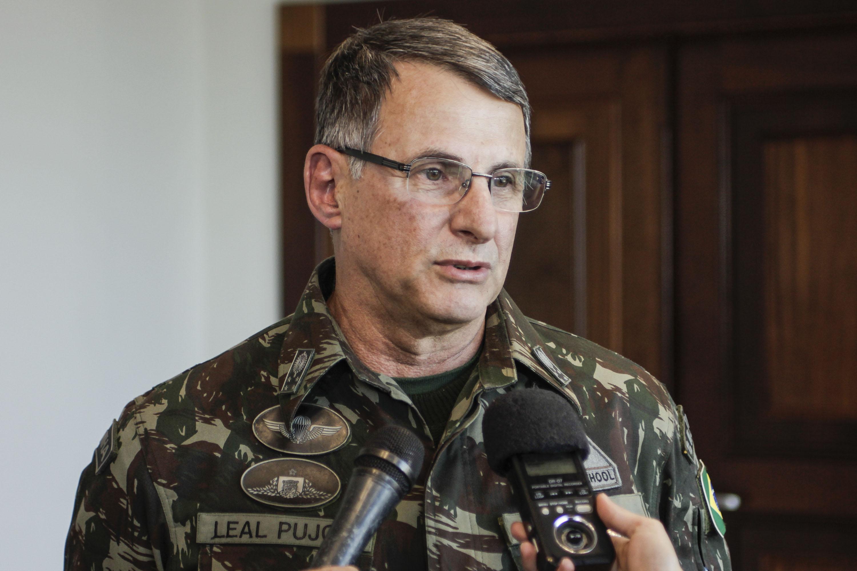 General Edson Leal Pujol, Comandante do Exército Brasileiro. Foto: Pedro Ribas