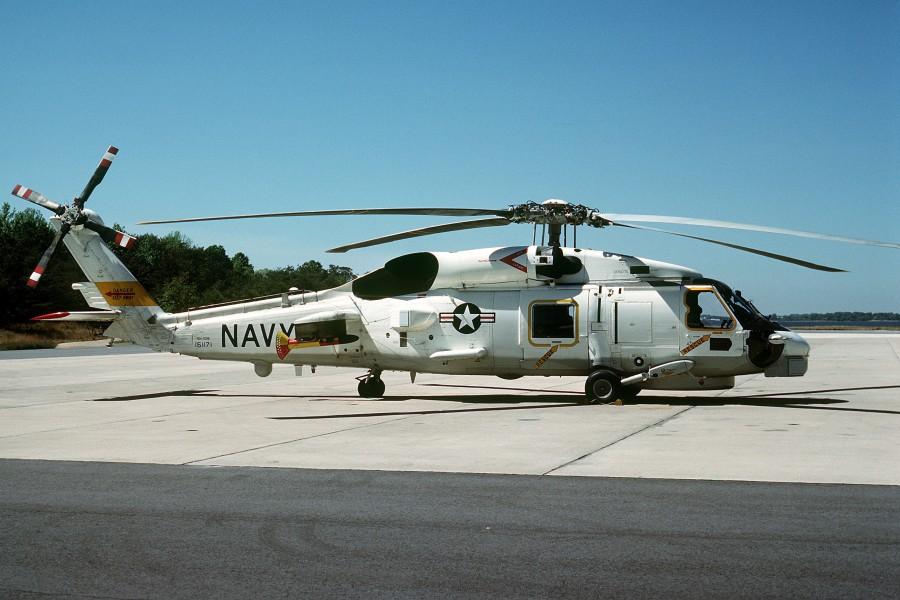 SH-60B Seahawk na NAS Patuxent River em 1981