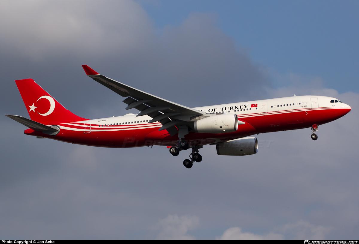 avião presidencial turco
