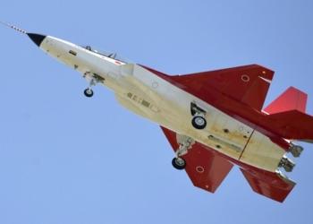Primeiro vôo do X-2...