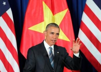 Presidente dos Estados Unidos, Barack Obama, durante evento em Hanói. 23/05/2016 REUTER/Luong Thai Linh/Pool