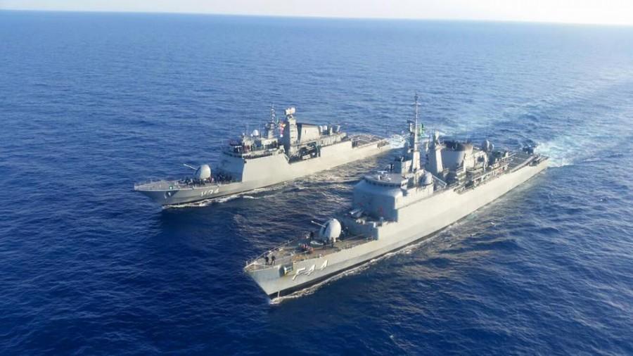 fragata Independência e corveta Barroso