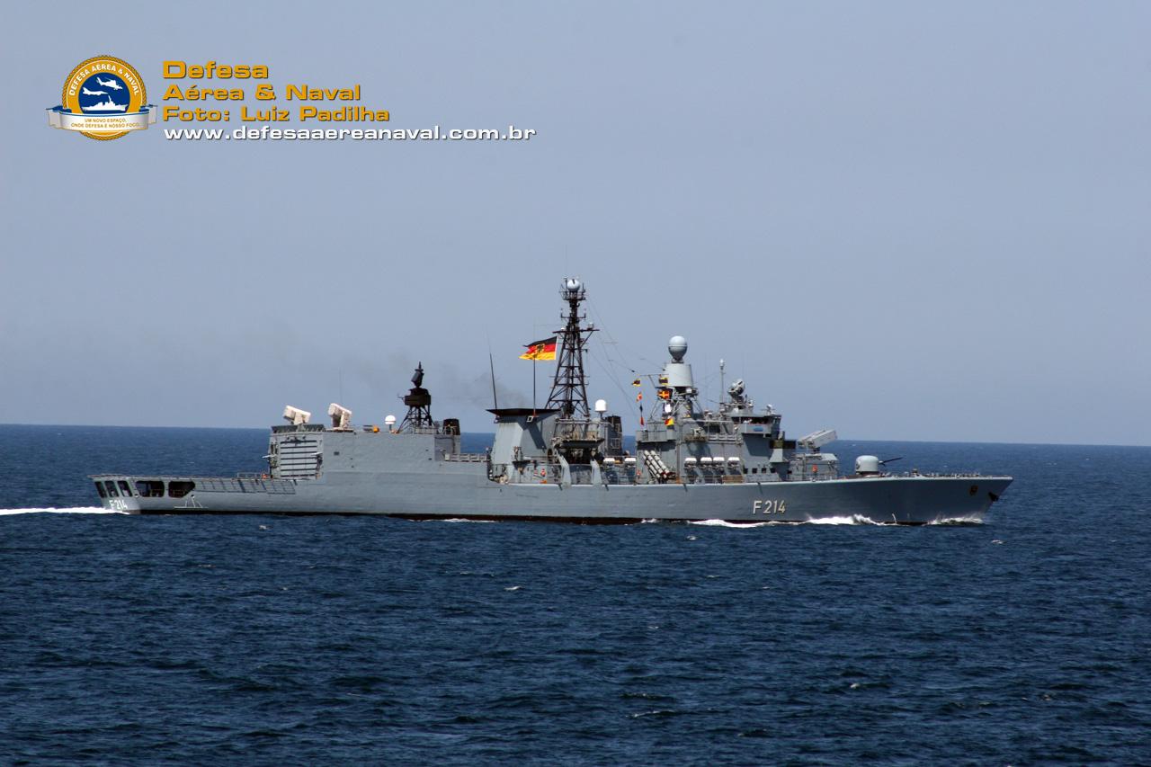 fragata-classe-Bremen - Lübeck (F-214)