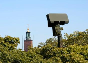 Giraffe radar in Stockholm, Sweden, 2013.