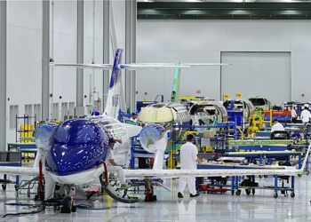 The HondaJet assembly line at Honda Aircraft Company has transitioned to production of customer aircraft.
