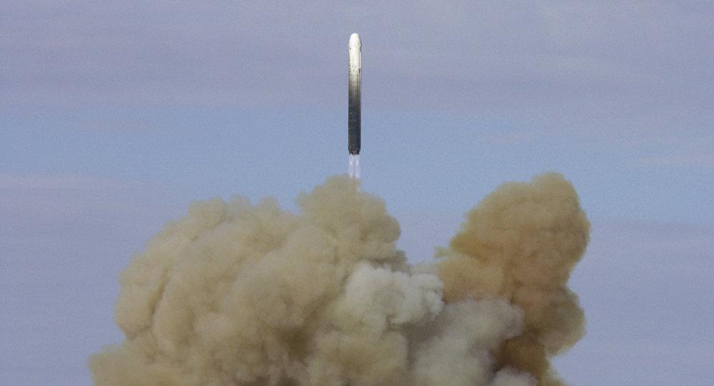 © Sputnik/ Sergei Kazak  Mostrar mais: http://br.sputniknews.com/defesa/20160830/6185334/nova-superarma-nuclear-russa.html