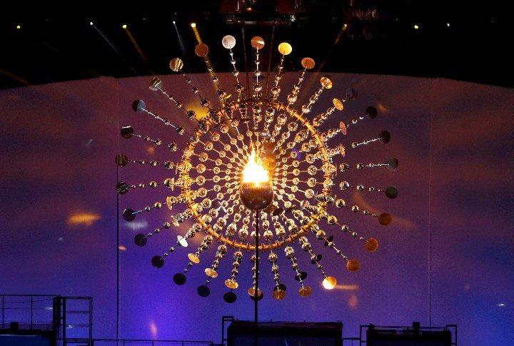 pira olímpica Rio 2016
